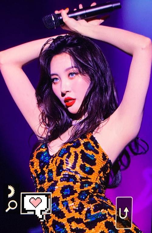 Sun Mi là một trong những nữ ca sĩ nổi tiếng với body