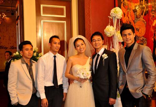 Năm 2010, Thùy Lâm kết hôn với một chàng trai trẻ không thuộc giới showbiz. Trong ngày cưới của cô, Vĩnh Thụy vẫn xuất hiện để chúc mừng. Thời điểm ấy, Hoa hậu Hoàn vũ Việt Nam 2008 còn hài hước cho rằng Vĩnh Thụy như một nhân vật chính trong ngày cưới.