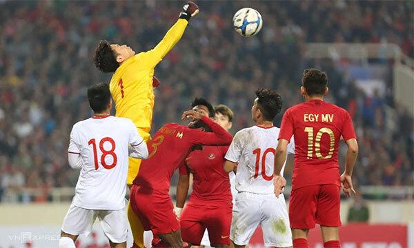 U23 Việt Nam cầm hòa Indonesia trên sân nhà