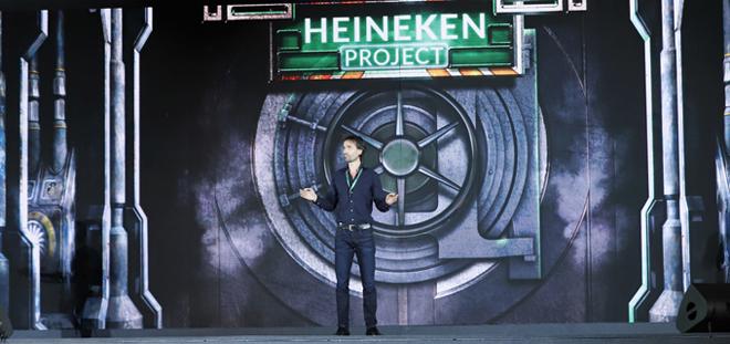 Tiếp đó, ông Alexander Koch - Giám đốc Thương mại Cấp cao Heineken Việt Nam giới thiệu và dẫn dắt khán giả đến với chuyến hành trình mới