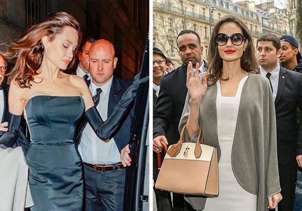 Nữ diễn viên có 3 vệ sĩ thân cận. Trước khi làm vệ sĩ cho Tom Cruise, Mark Billy Billingham chính là người bảo vệ Angelina Jolie và 6 con của cô. Cả hai có mối quan hệ thân thiết như những người bạn tâm giao. Nữ diễn viên đã chi hơn 2 triệu USD chỉ tính riêng chi phí vệ sĩ hàng năm.