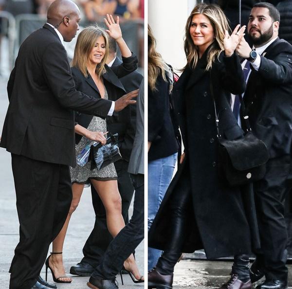 Jennifer Aniston được vệ sĩ bảo vệ gần như 24/7. Khi cô ra ngoài, luôn có 3 vệ sĩ đảm bảo rằng sẽ không có bất kỳ paparazzi hay người hâm mộ quá khích đến gần.