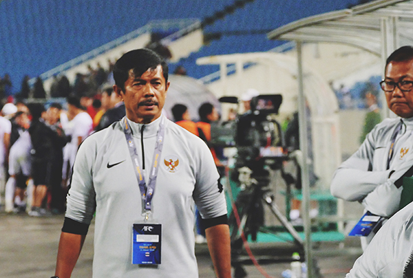 HLV trưởng của U23 Indonesia.