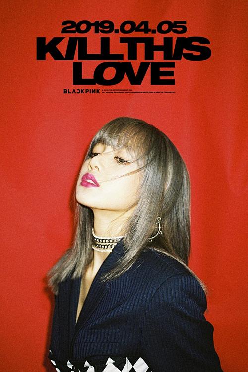 Teaser Kill this love của Lisa.