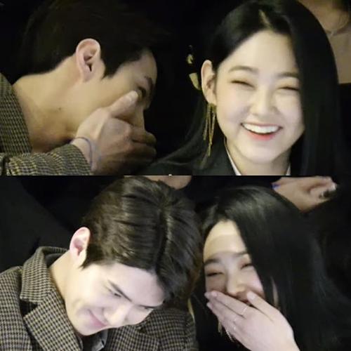Khoảnh khắc thân thiết đáng ngờ của Se Hun (EXO) và Mina (Gugudan) - 3