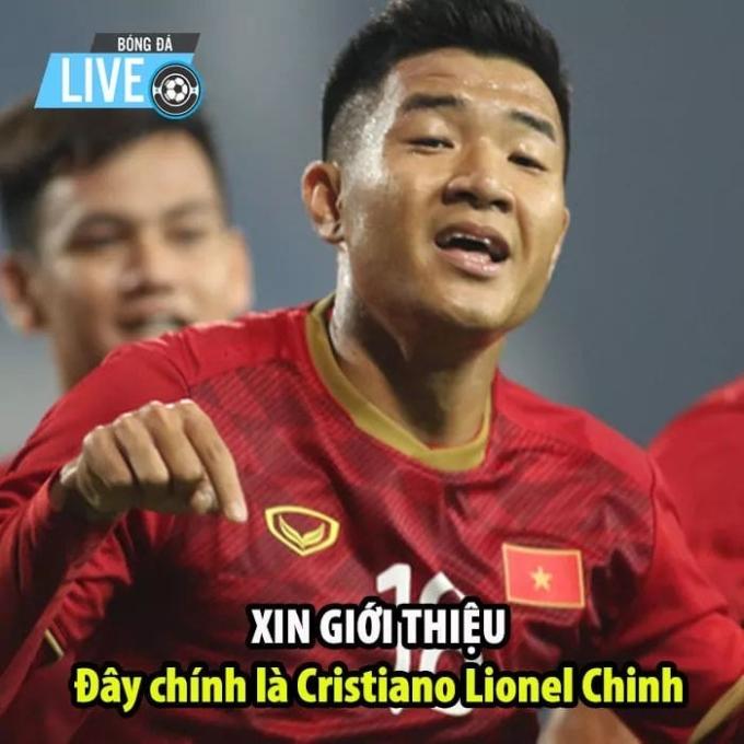 <p> Bàn thắng của Hà Đức Chinh có ý nghĩa lớn khi củng cố tinh thần thi đấu cho toàn đội ở một trận đấu mang tính chất quyết định.</p>