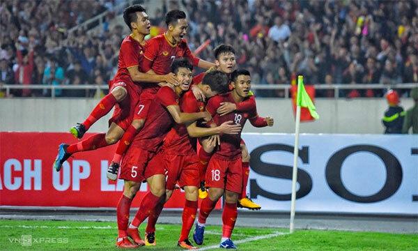 U23 Việt Nam thắng đậm trước U23 Thái Lan.