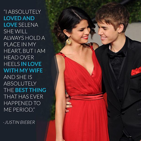 Justin khẳng định sẽ luôn yêu quý Selena...