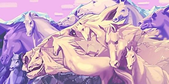 Trắc nghiệm: Bạn nhìn thấy bao nhiêu con ngựa?