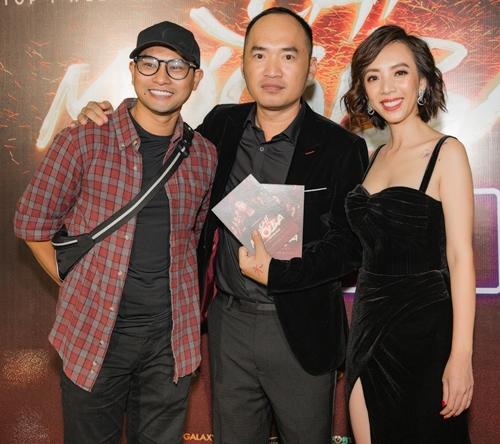 Diễn viên Huỳnh Đông đảm nhận một vai ông trùm trong phim.
