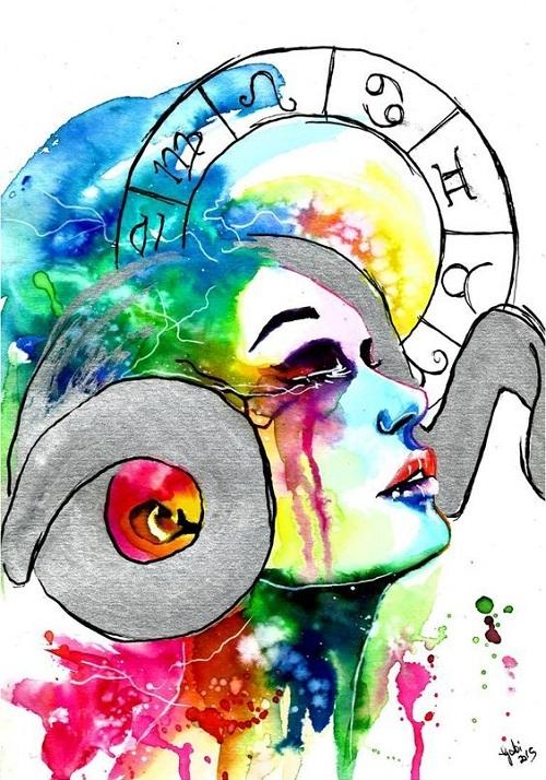 Chữ yêu trong mắt 12 cung hoàng đạo