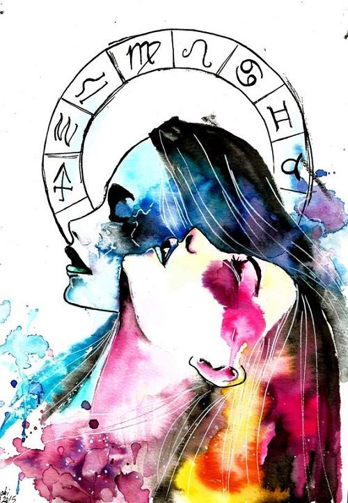 Chữ yêu trong mắt 12 cung hoàng đạo - 2
