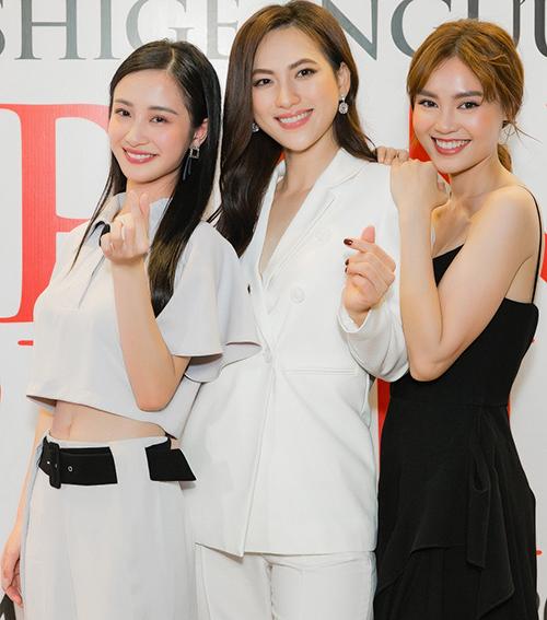 Jun Vũ chị chị em em với Phương Anh Đào, Lan Ngọc