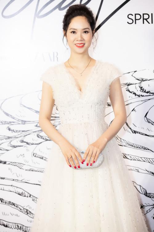 Hoa hậu Mai Phương đã lâu mới xuất hiện trong sự kiện giải trí.