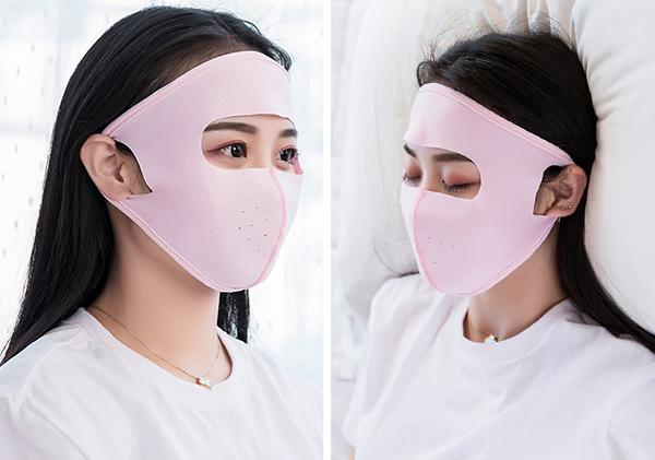 Món đồ được quảng cáo là thoáng mát đến mức có thể đeo cả khi đi ngủ, những người đeo kính không lo hơi thở làm mờ mắt kính.