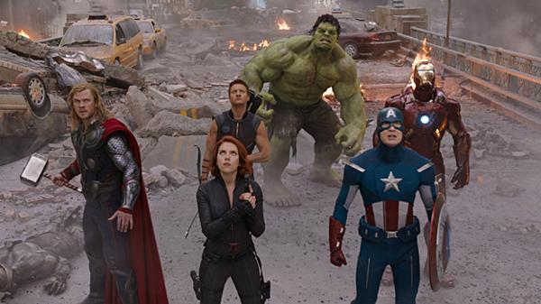 2012 là thời điểm đội Avengers được thành lập.