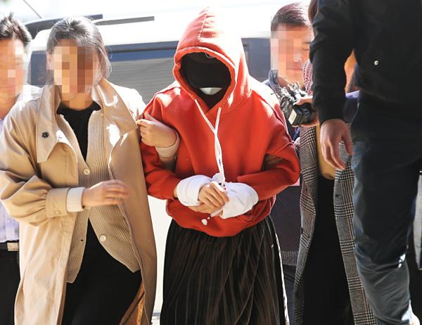 Hwang Hana bị bắt giữ sau khi nhiều lần phớt lờ lệnh triệu tập của cảnh sát.