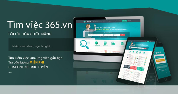 Ứng dụng Tìm việc 365.vn sẽ giúp các nhà tuyển dụng chọn được ứng viên thích hợp.