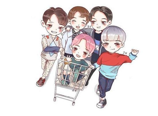 Fan cứng đoán nhóm nhạc Kpop qua hình chibi - 1
