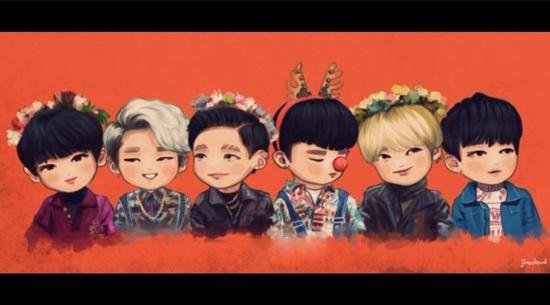 Fan cứng đoán nhóm nhạc Kpop qua hình chibi - 3