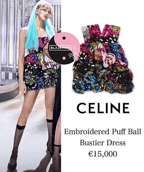 So với những sản phẩm trước, lần này diện mạo của Lisa nhận được nhiều lời khen ngợi hơn hẳn. Cô nàng cũng được mặc bộ váy Celine với giá khoảng 390 triệu đồng.