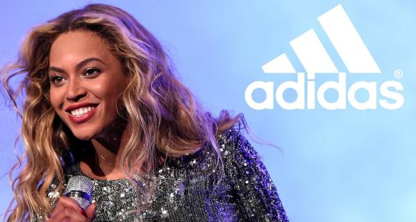 Beyoncé cho biết rất vui khi được hợp tác cùng adidas.