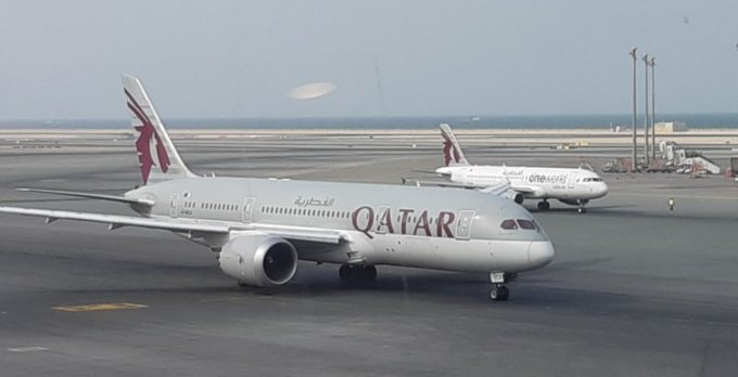 <p> <strong>2. Qatar Airways, Qatar</strong></p> <p> Qatar Airway đã có bước nhảy vọt từ vị trí thứ 8 lên vị trí thứ 2 trong năm nay. Hãng này cũng được trao giải ghế hạng thương gia tốt nhất. Trong đó, ghế hạng thương gia và ghế hạng nhất của hãng có thể chuyển thành giường nằm trong các chuyến bay.</p>