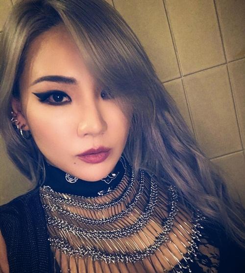 CL quyến rũ, sắc sảo trong bức ảnh mới nhất trên Instagram.
