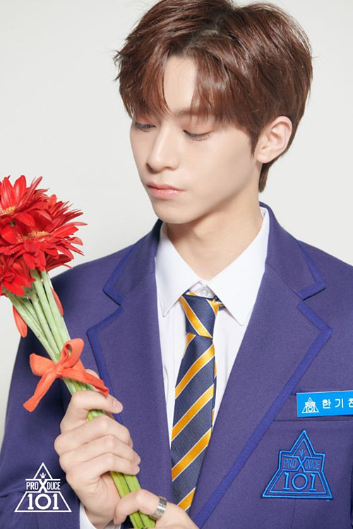 Tuy nhiên, kỹ năng của Han Gi Chan còn khá yếu. Anh chàng bị xếp vào lớp X sau phần đánh giá đầu tiên. Nếu muốn debut, nam ca sĩ còn phải luyện tập chăm chỉ hơn.