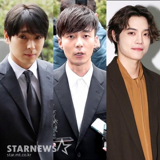 Choi Jong Hoon, Roy Kim và Eddy Kim.
