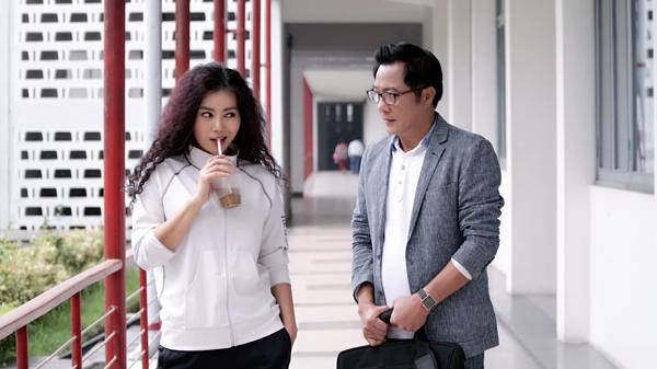 Thanh Hương đóng cặp với NSƯT Trọng Trinh.