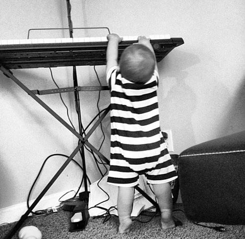 Avett chơi nhạc từ khi mới 11 tháng tuổi.