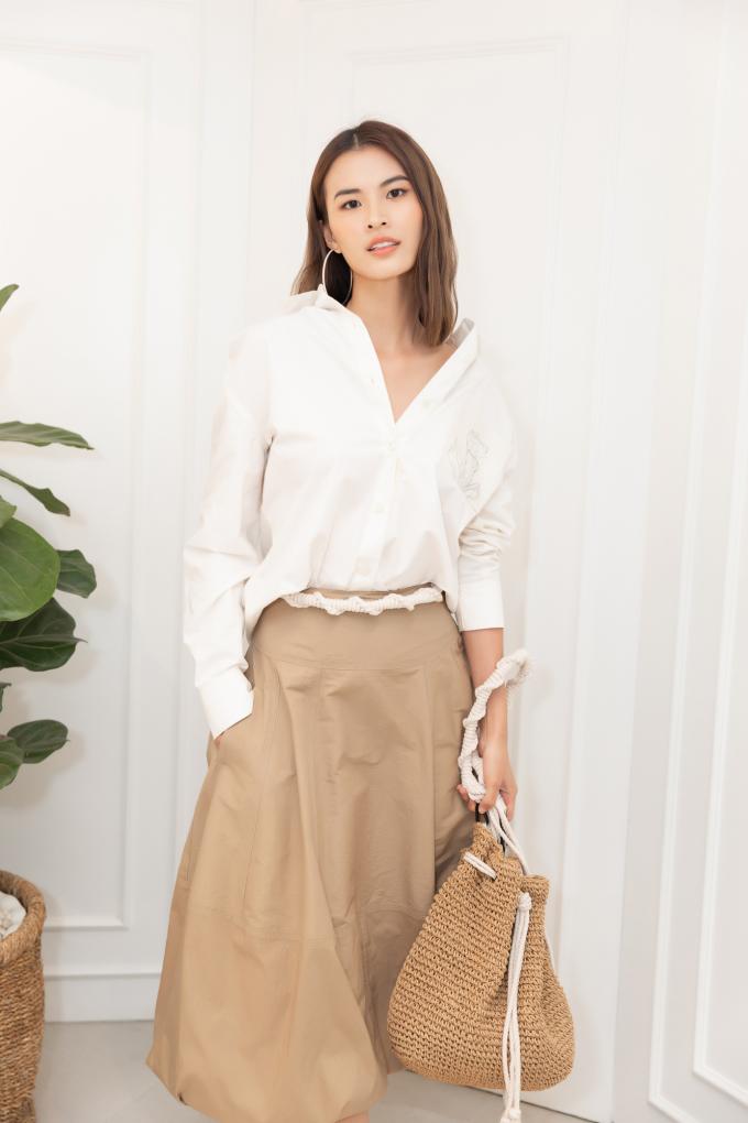 <p> Người mẫu Cao Thiên Trang.</p>