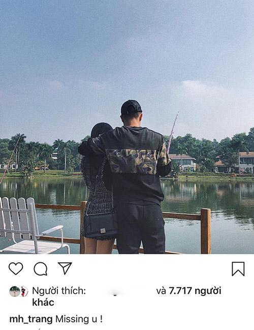 Bạn gái tin đồn của Hà Đức Chinh gây xôn xao với bức ảnh tình cảm.