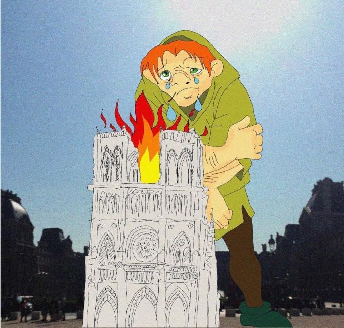 """<p> Quasimodo là nhân vật chính trong tiểu thuyết bất hủ """"Nhà thờ Đức Bà Paris"""" của nhà văn Victor Hugo. Anh là một thằng gù xấu xí, mồ côi, được người ta đưa về nuôi và trở thành người đánh chuông cho nhà thờ.</p>"""