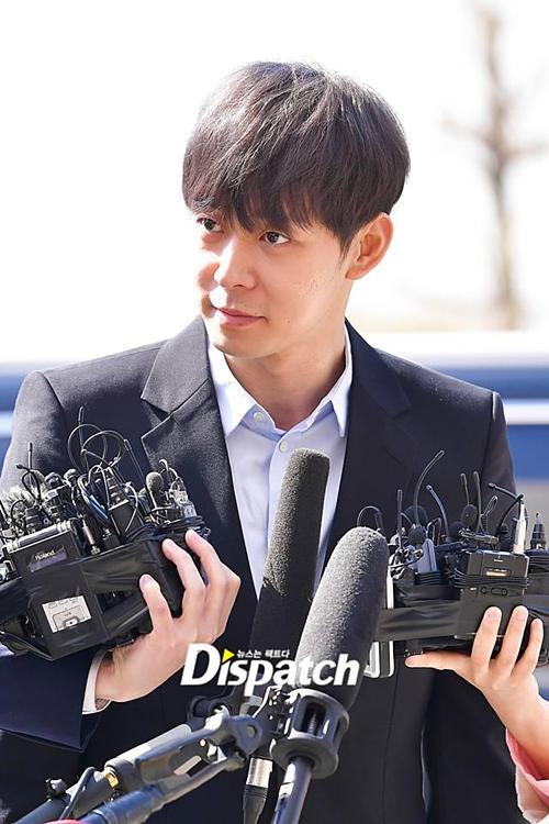 Park Yoo Chun âm tính với ma túy, tự tin trình diện cảnh sát