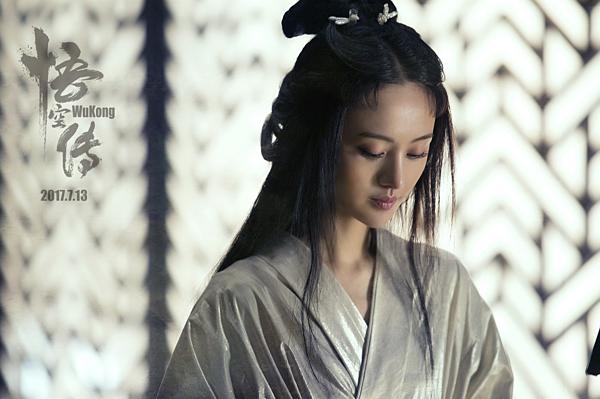 Trịnh Sảng từng được yêu mến qua các phim cổ trang như Cổ kiếm kỳ đàm, Họa bích. Trong hình, cô đóng vai tiên nữ A Nguyệt trong phim điện ảnh Ngộ Không truyện.
