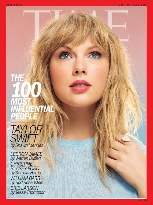 Thành tích nàygiúp BTS sánh ngang với những ngôi sao lớn khác. Taylor Swift là một trong những nhân vật được xếp vào nhóm biểu tượng của #TIME100 năm nay.