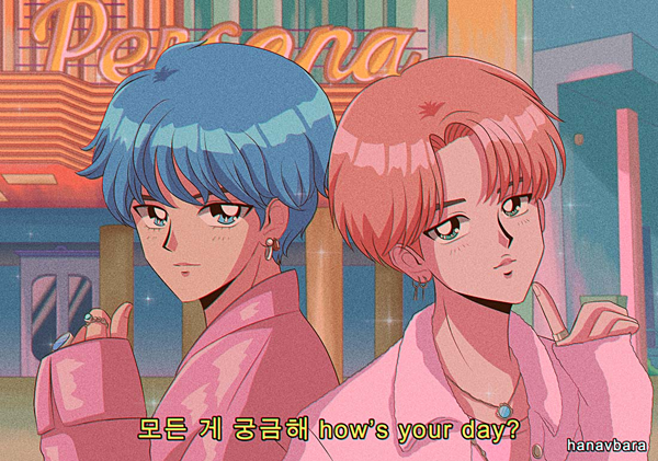 Gần đây, cộng đồng fan Kpop đang phát cuồng vì những tác phẩm fanart của một họa sĩ người Tây Ban Nha. Sau khi BTS tung MV Boy with Luv,