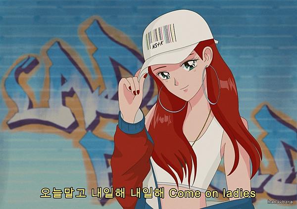 Hani (EXID) trong MV Lady.