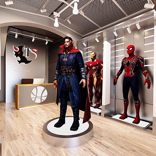 Các nhân vật của vũ trụ điện ảnh Marvel được thiết kế gần như đủ bộ