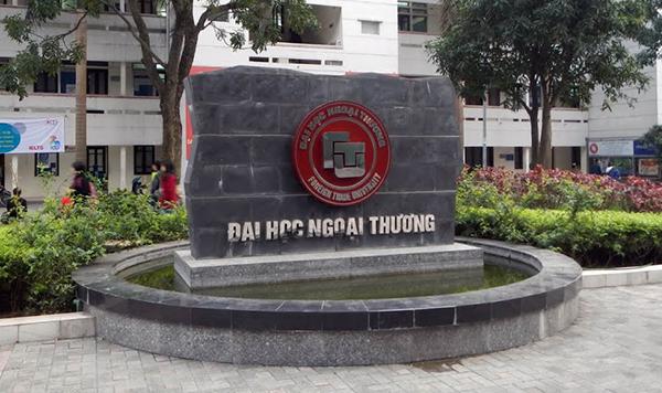 Trường Đại học Ngoại thương.