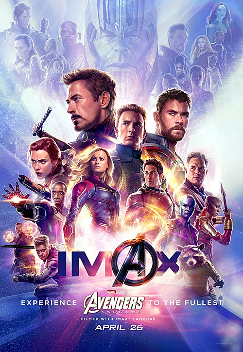 Poster Avengers: Endgame quy tụ gần 30 nhân vật.