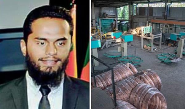 Inshaf (38 tuổi) là một trong nghi phạm đánh bom tại khách sạn ở Sri Lanka, và xưởng đồng nơi chế tạo bom.