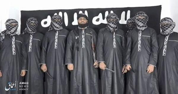 Bức ảnh công bố những kẻ đánh bom trong thảm sát đẫm máu tại Sri Lanka.