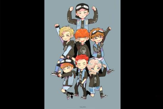 Fan cứng đoán nhóm nhạc Kpop qua hình chibi (3) - 3
