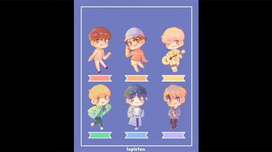 Fan cứng đoán nhóm nhạc Kpop qua hình chibi (3) - 5