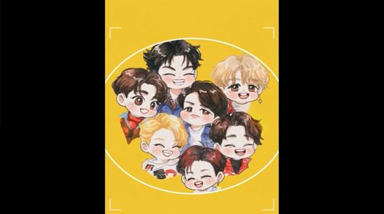 Fan cứng đoán nhóm nhạc Kpop qua hình chibi (3) - 6