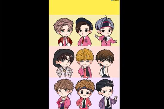Fan cứng đoán nhóm nhạc Kpop qua hình chibi (3) - 9