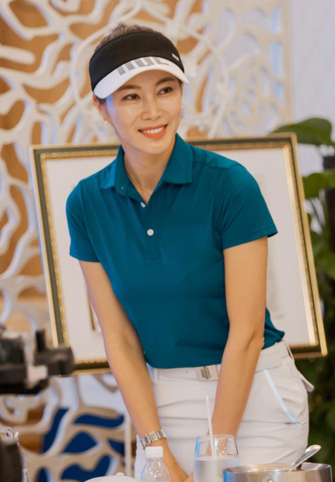 <p> Siêu mẫu Ha Yeon Hwa.</p>